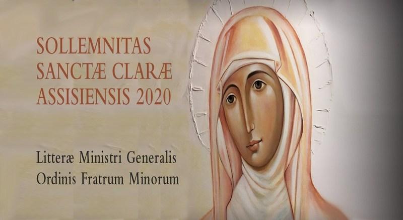 Carta del Ministro General OFM, por la Fiesta de Santa Clara 2020